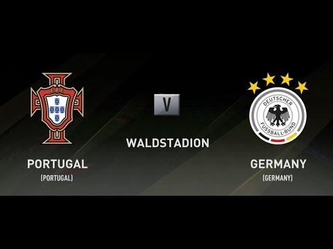 FIFA 18 PORTUGAL V GERMANY XBOX ONE GAMEPLAY