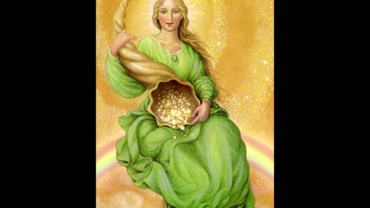 абудантия богиня денег картинки большинстве
