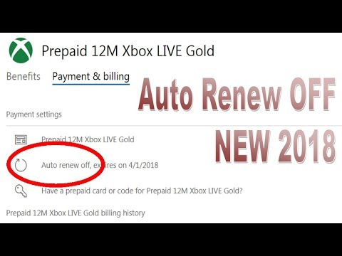 How to Turn Off Xbox Live Auto Renewal [2018]