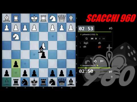 SCACCHI Partite Online 67 - Torneo delle Varianti 2016 - CHESS960 (Fischer)
