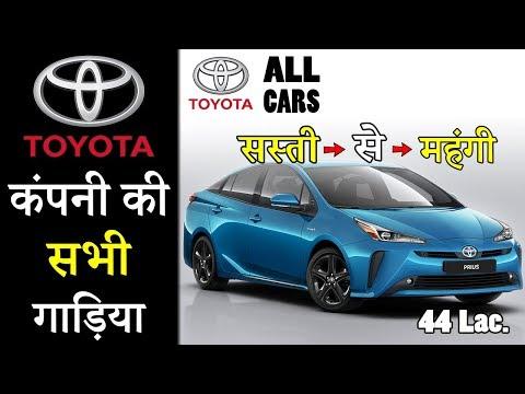Toyota Company All Cars In India 2019 (Explain In Hindi)