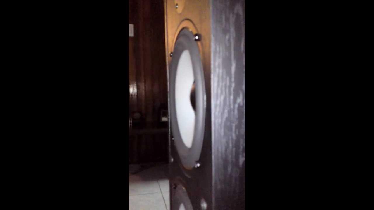 Boston Acoustics Cs260 Ii Thump Youtube A 250