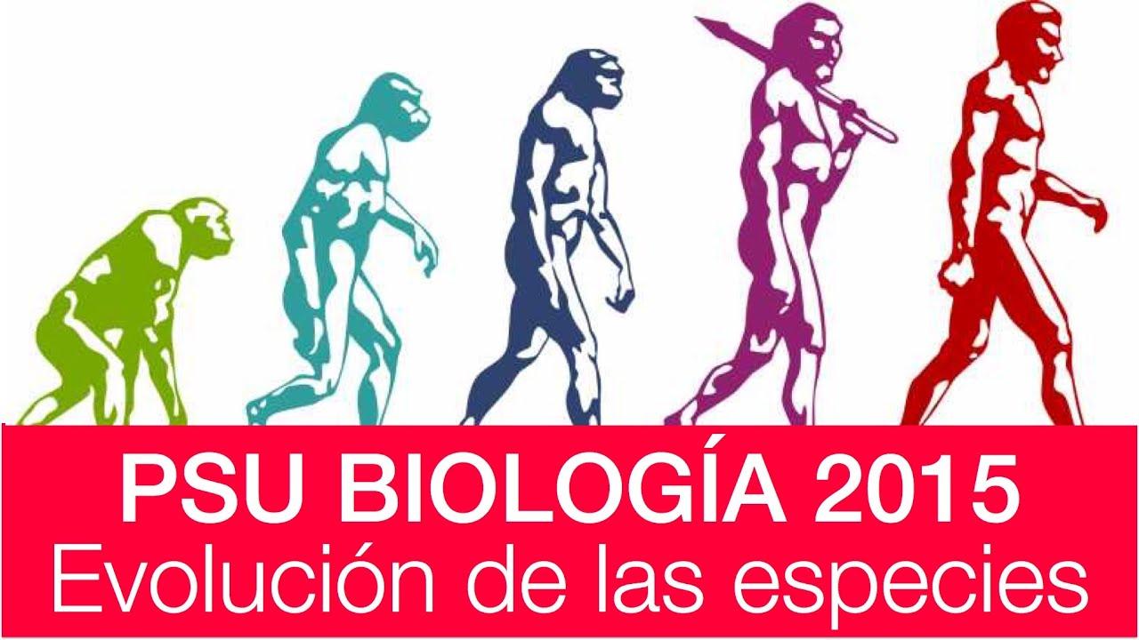 Clase 2 Biología PSU 2015: Evolución de las especies - YouTube