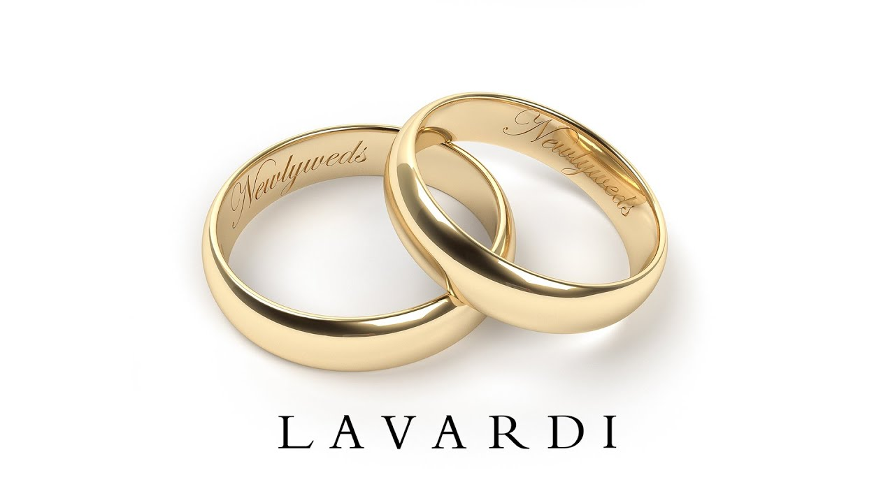 Купить обручальные кольца гладкие