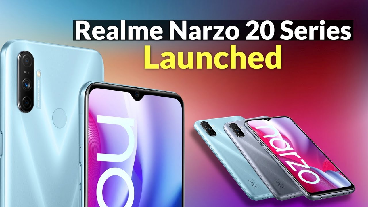 Realme Narzo 20 Pro launched in India : Realme Narzo 20 सीरीज भारत में लॉन्च, जानें दाम व सारी खूबियां -  Watch Video