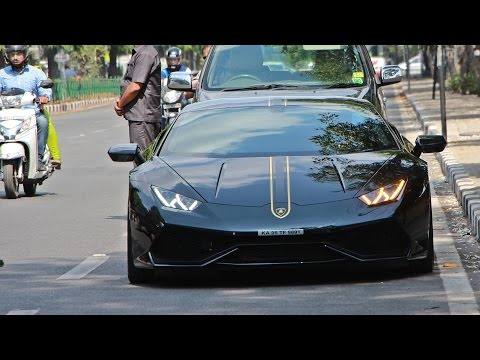 Supercars Bangalore (April 2016) - Huracan, 488, MTM RS7 & more...