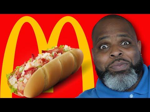 McDonald's Lobster Roll is BACK w/ DAYM DROPS GEM!
