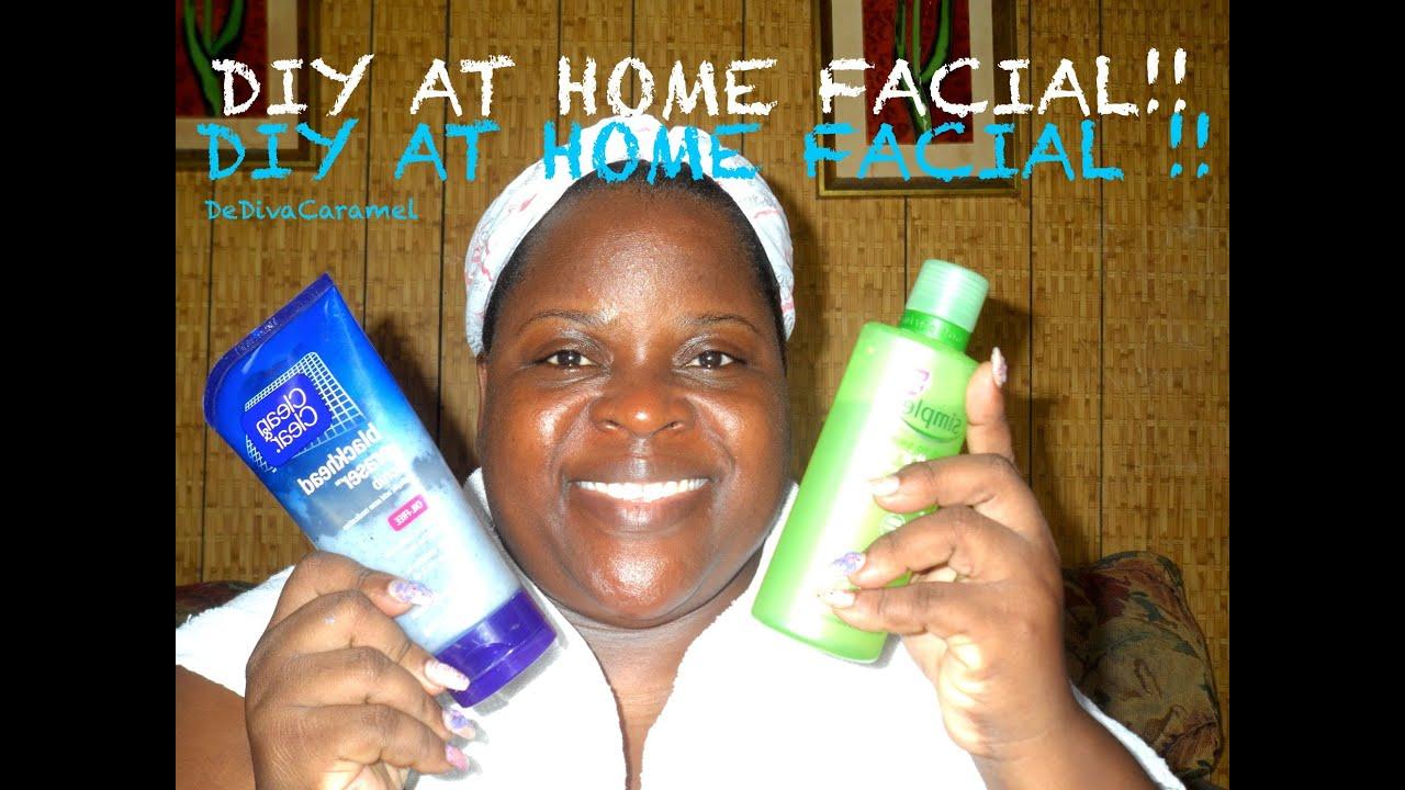 facial at home steps
