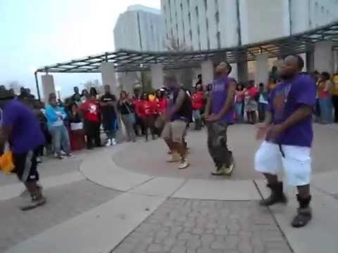 Omega Psi Phi Chant at Northern Illinois University