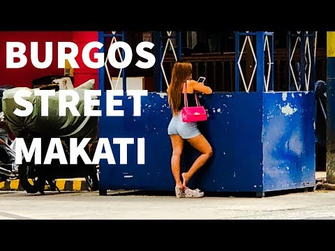 5 Days on Burgos Street in Makati, Philippines - The Grand T