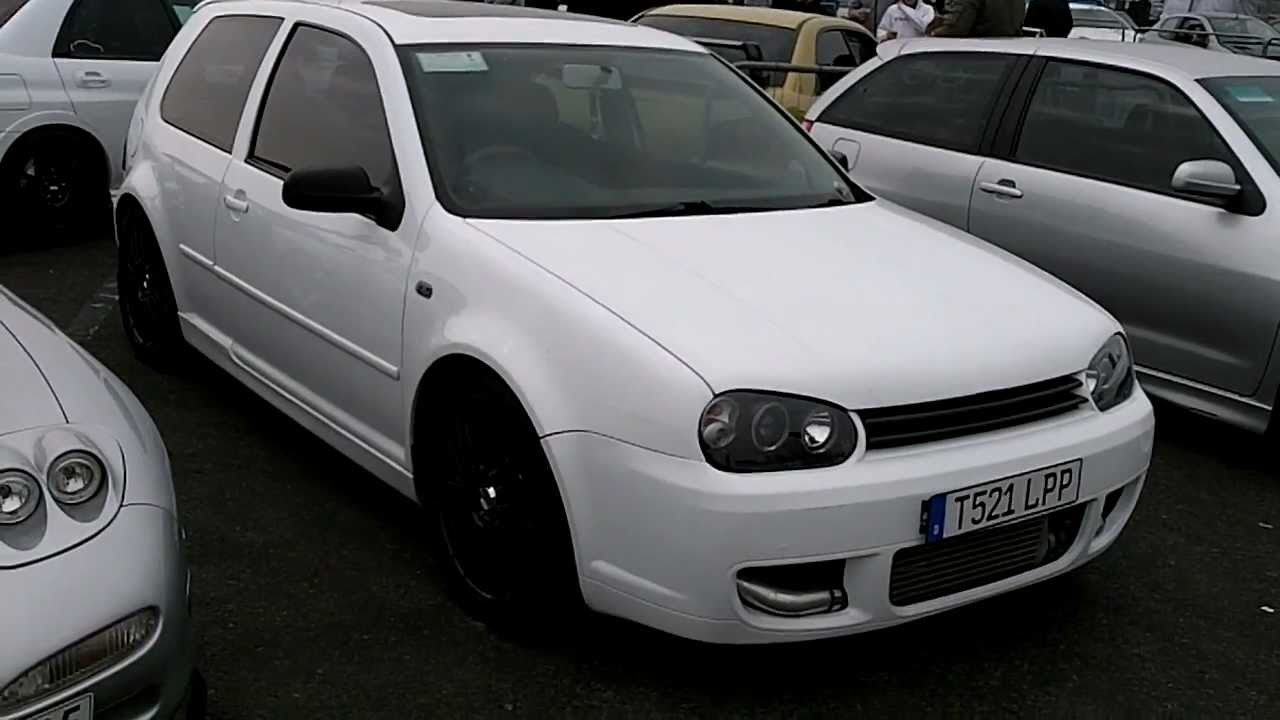 1999 Vw Golf Gti Mk4 At 2011 Fast Show Santa Pod Youtube