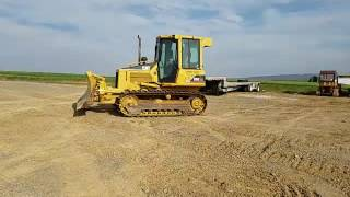 2004 caterpillar d5g xl dozer w new tracks operating inspection video