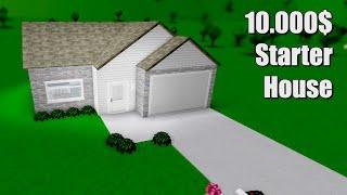 Bau eines Hauses auf einem 10K Budget in Bloxburg!! • Roblox
