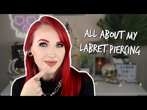 Labret Piercing : All information about -  Risks & Painful  & Healing Piercing