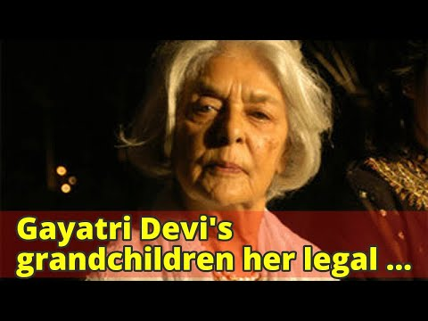 Gayatri Devi's grandchildren her legal heirs: Delhi HC