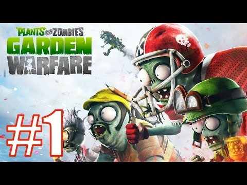 Начинаю играть в Plants Vs Zombies Garden Warfare [Садовая Война] - Garden Ops