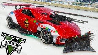 GTA V Online - Novo Carro de NATAL LIMPA NEVE ZR380