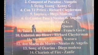 temas romanticos instrumental cd - henry mancini exodus ( version panflute )