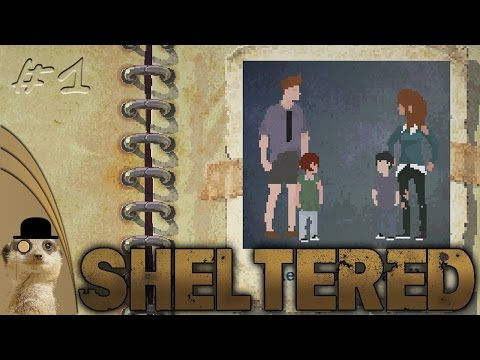 PIXELATED POST NUCLEAR ADVENTURE! || Sheltered #1 |