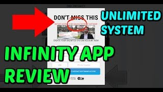 Unlimited System Launch *The Infinity App* Scam Review (RE-LAUNCH)