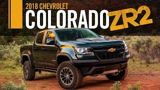 2018 Chevrolet Colorado ZR2 Quick Take Review Test Drive