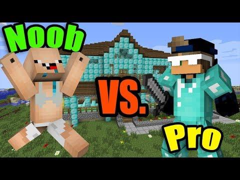 MINECRAFT - NOOB vs. PRO (Super Funny)