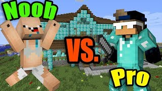 MINECRAFT - NOOB vs. PRO (Super Funny)