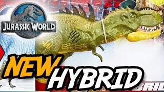 "NEW JURASSIC WORLD® ""Dino Hybrid"" TOYS 