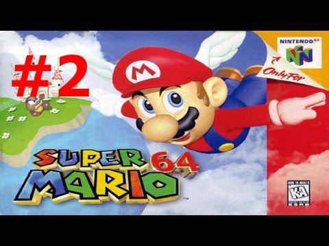 CVG - Jugando Super Mario 64 - Parte 2 Carrera Peach