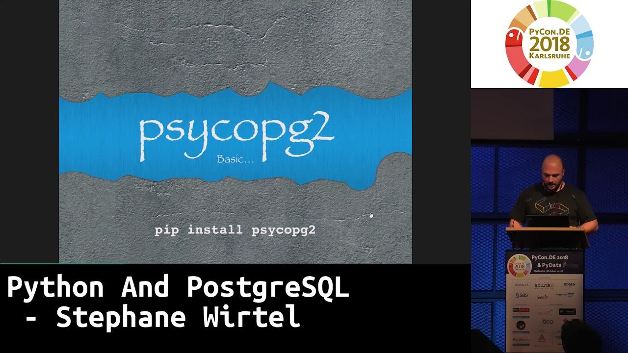 Image from Python And PostgreSQL