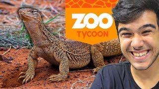 Hoje estamos de novo no Gellozoo, em Zoo Tycoon! Parte 2 Amigos: Ca...