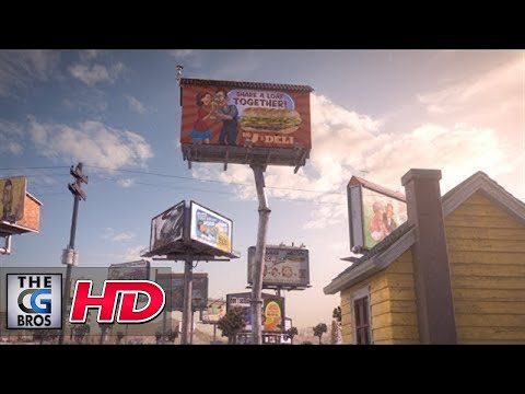 CGI Animated Making of HD: Love In The Time of Advertising:Rigging & Animating The Billboards Part 1