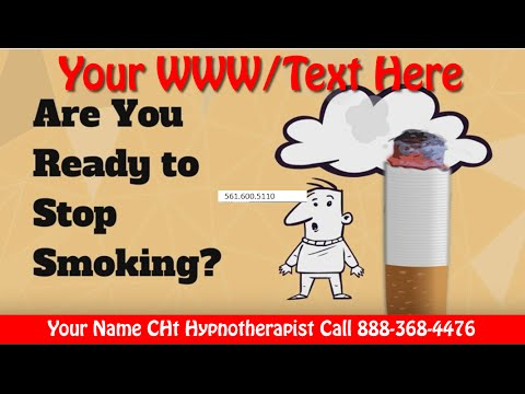 Stop Smoking Hypnosis TIP Video Demo