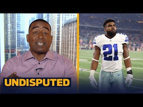Cris Carter: I don't believe the Ezekiel Elliott suspension is a conspiracy | UNDISPUTED