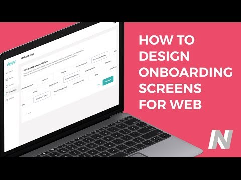 How to Design: Web Onboarding Screens | UI/UX