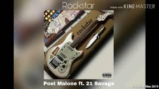 ROCKSTAR - POST MALONE, 21 SAVAGE (AUDIO)