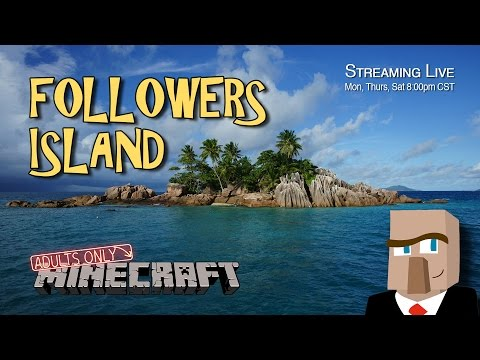 "FOLLOWERS ISLAND 64 ""All villagers need a place to work!"" - A Minecraft Let's Play Series"