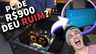 COMPRAMOS UM PC GAMER DE R$ 900,00!! Será que funciona?