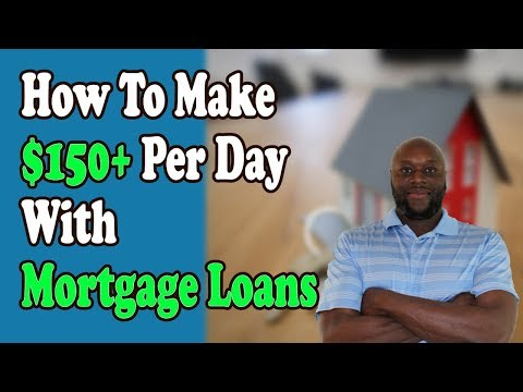 How to Make Money Online With Mortgage Loans
