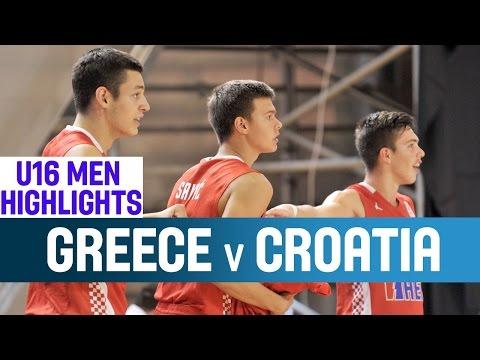 U16 ΕΘΝΙΚΗ ΑΝΔΡΩΝ | Video : Στιγμιότυπα Ελλάδα - Κροατία 51-56