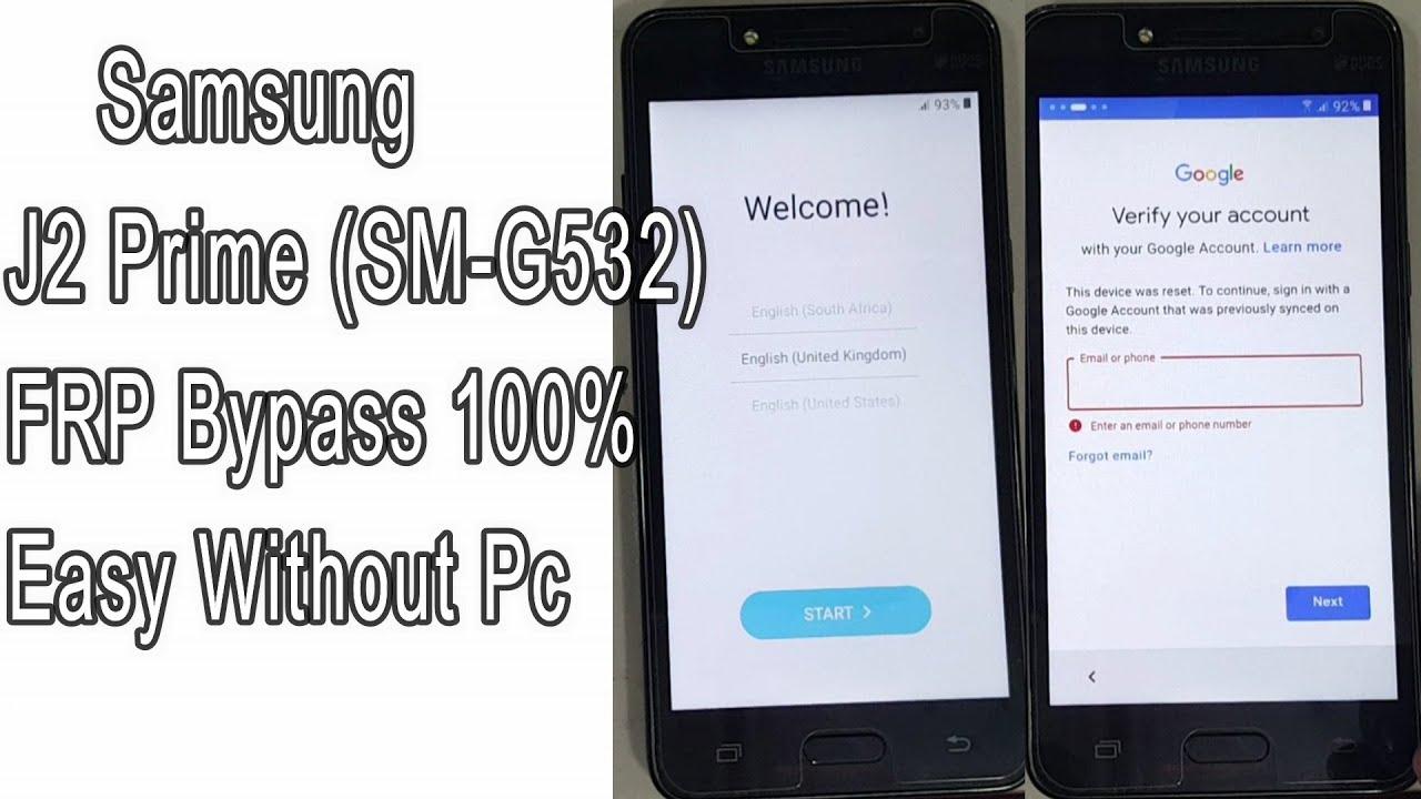 New Method Samsung SM-G532 FRP Bypass Samsung Galaxy Grand Prime Plus FRP Bypass G531f FRP Bypass