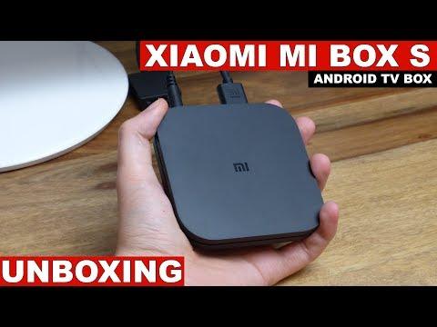 Xiaomi Mi Box S (Android TV 8.1) Unboxing