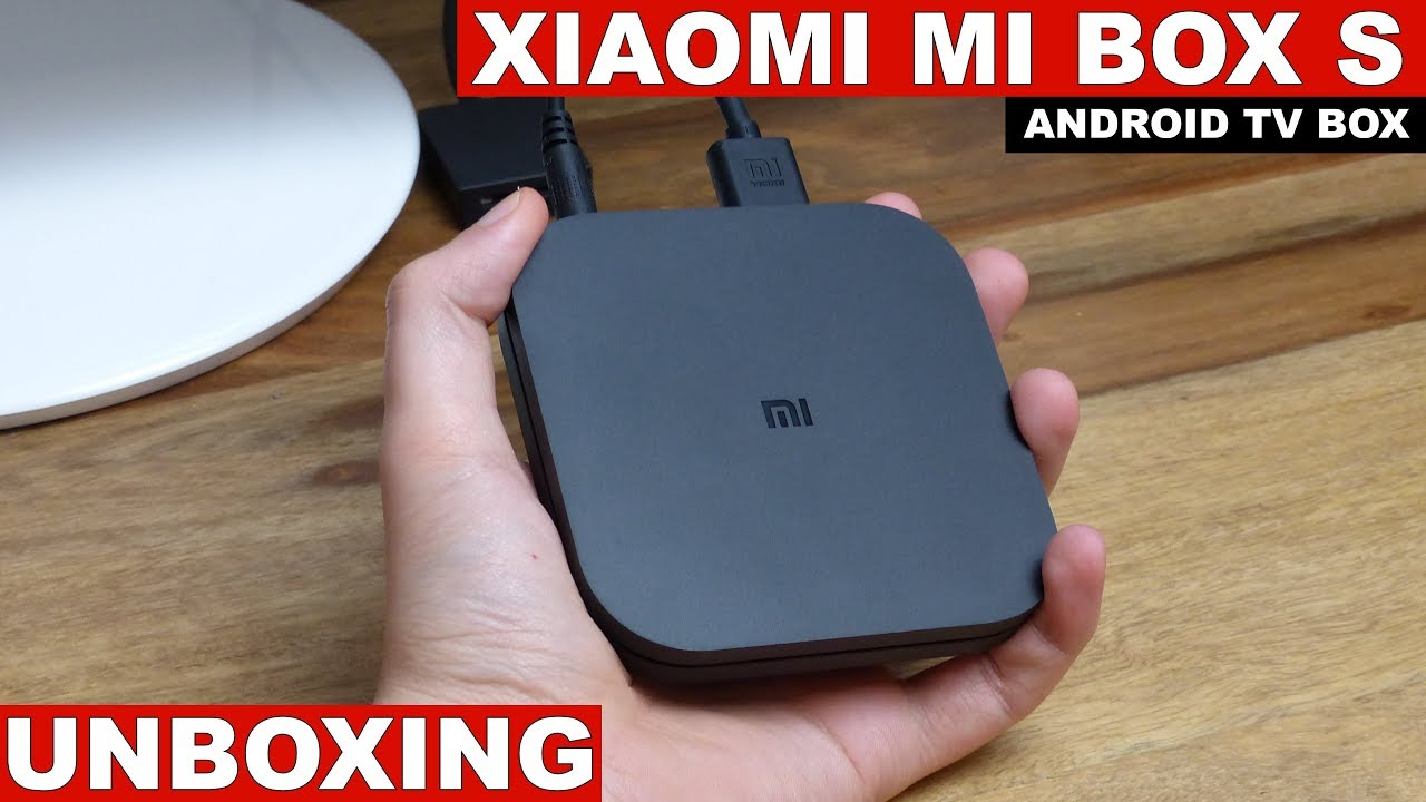 Xiaomi Mi Box S (Android TV 8 1) Unboxing