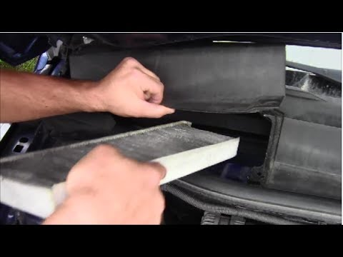How To Replace Cabin Air Filter On 2008 Chevy Equinox Youtube
