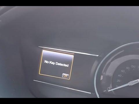 Ford No Key Detected Fix