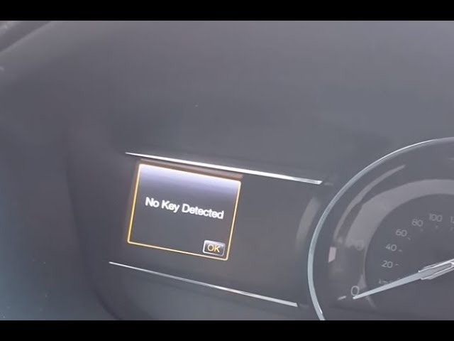 Ford No Key Detected Fix Youtube