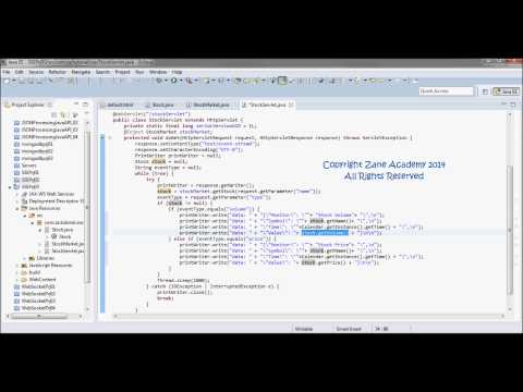 Server Sent Events  Tutorial 03 (JSON Data + Java Servlet + Singleton Session Bean)