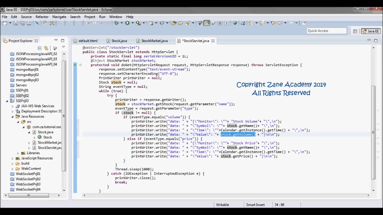 Java json tutorial image collections any tutorial examples server sent events tutorial 03 json data java servlet server sent events tutorial 03 json data baditri Images