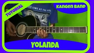 Belajar Melodi Gitar Kangen Band Yolanda