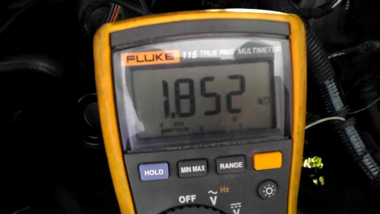 Tps Throttle Position Sensor Testing Youtube Rb25det Wiring Diagram